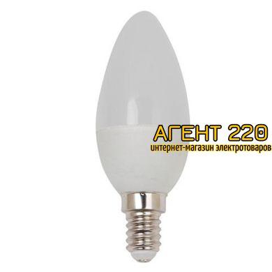 Лампа LED 6W свеча Е14 220В 4200К Horoz Electric